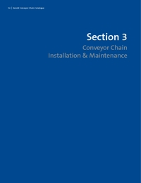 RENOLD Chain Conveyor Series Installation & Maintenance Guide